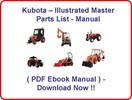Thumbnail KUBOTA LOADER LA240 PARTS MANUAL - ILLUSTRATED MASTER PARTS LIST MANUAL - (BEST PDF EBOOK MANUAL AVAILABLE) - KUBOTA LOADER LA 240 - DOWNLOAD !!